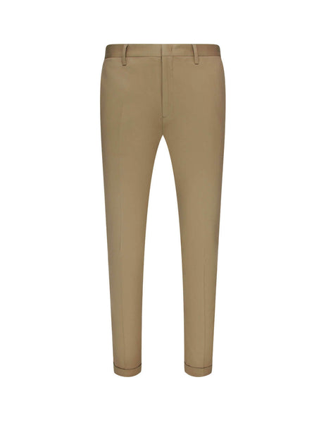 Paul Smith Men's Giulio Fashion Brown Woven Tailored Trousers M1R-255U-E00031-61