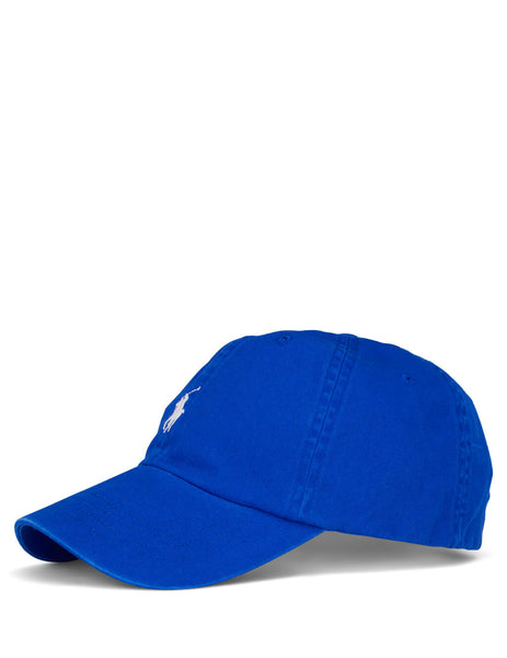 Polo Ralph Lauren Men's Pacific Royal Blue Cotton Baseball Cap 710673213038