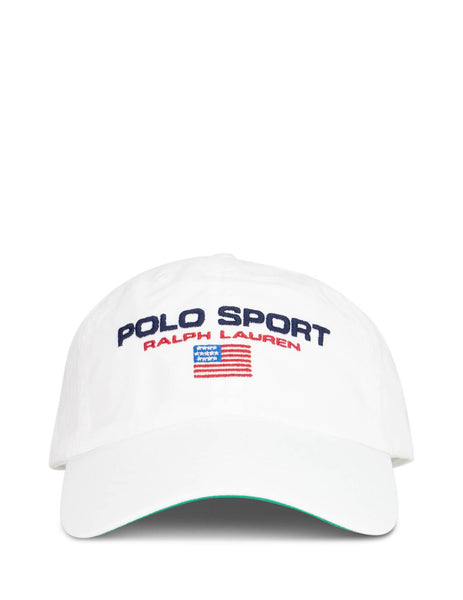 Polo Ralph Lauren Pure White Polo Sport Baseball Cap 710754471004