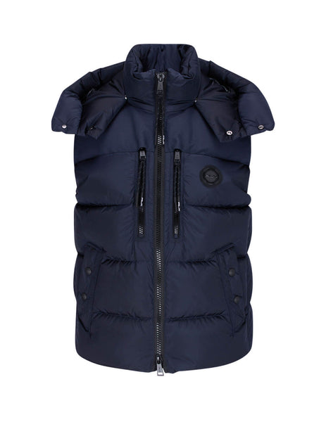 Men's Polo Ralph Lauren RLX Down Padded Gilet in Classic Chairman Navy - 784825217001
