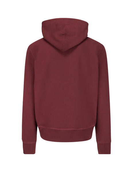 Polo Ralph Lauren Men's Giulio Fashion Classic Wine Vintage Fleece Hoodie 710766797002