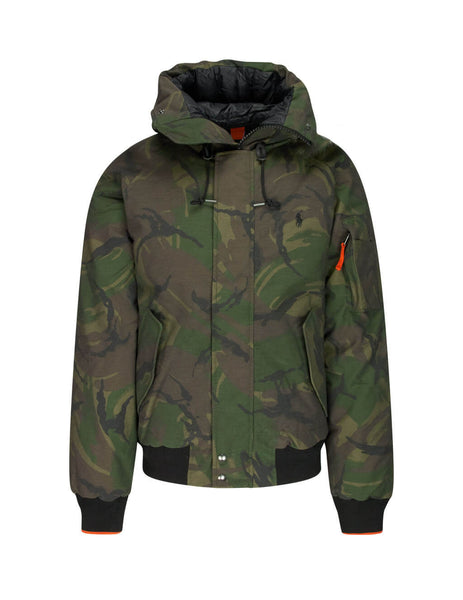 Polo Ralph Lauren Men's Giuio Fashion British Elmwood Camo Green Annex Bomber Jacket 710759969001