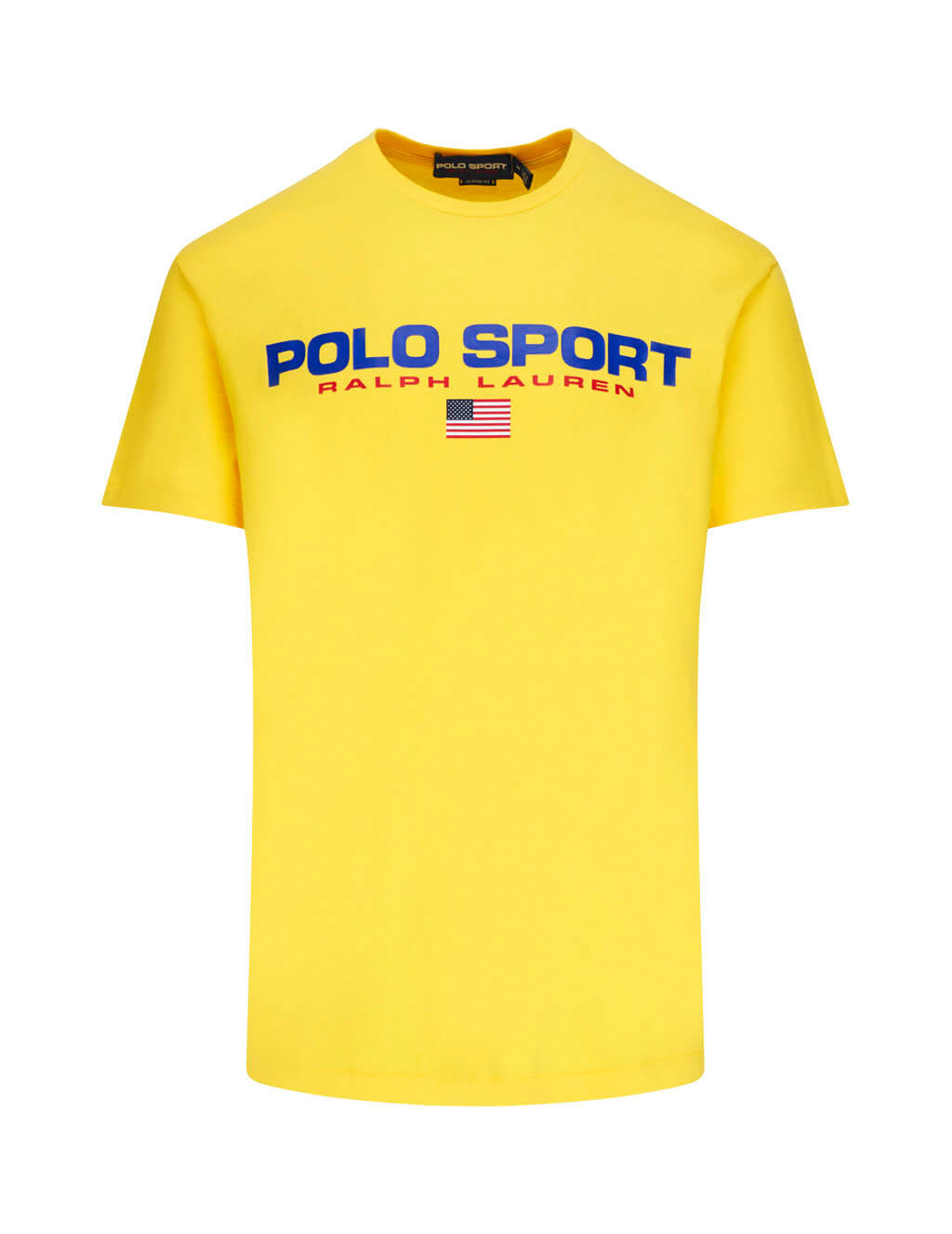 Polo Ralph Lauren Men's Giulio Fashion Chrome Yellow Classic Polo Sport Tee 710750444006