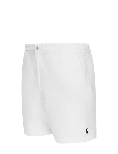 Polo Ralph Lauren Men's Giulio Fashion White Classic Prepster Shorts 710644995011