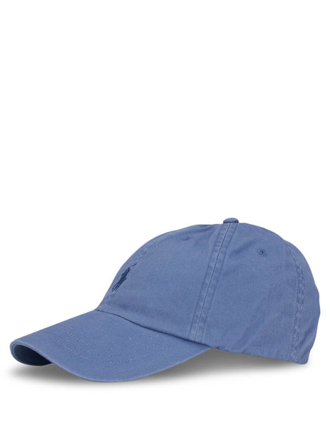 Polo Ralph Lauren Men's Carson Blue Cotton Baseball Cap 710548524003