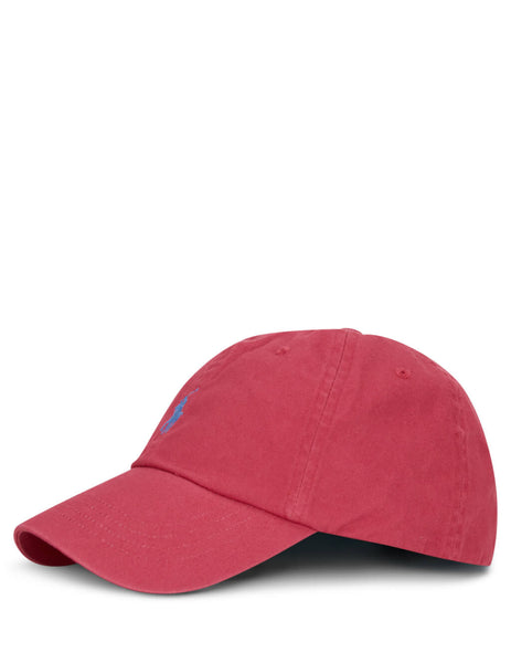 Polo Ralph Lauren Men's Giulio Fashion Red Cotton Chino Baseball Cap 710673213041