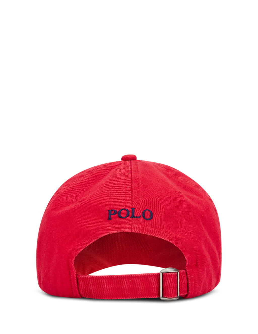 Polo Ralph Lauren Men's Red Cotton Chino Baseball Cap 710548524002