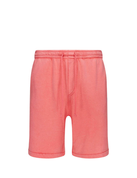 Polo Ralph Lauren Men's Giulio Fashion Racing Red Cotton Spa Terry Shorts 710704271006