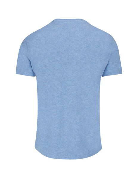 Polo Ralph Lauren Men's Blue Custom Slim T-Shirt 710671438130