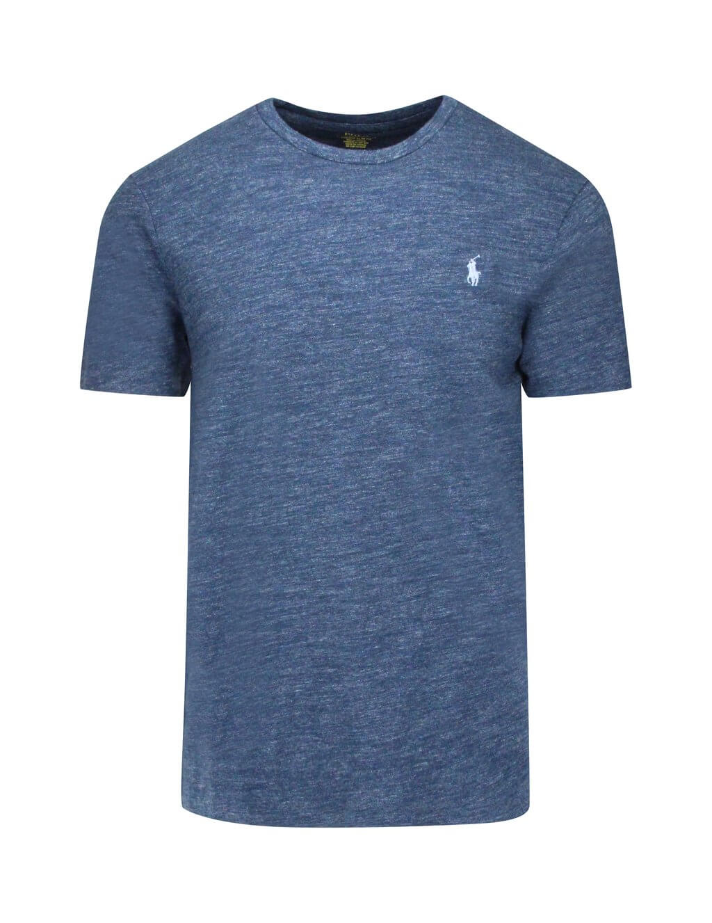 Polo Ralph Lauren Custom Slim Fit Cotton T-Shirt Blue 710671438002 Men's Giulio Fashion