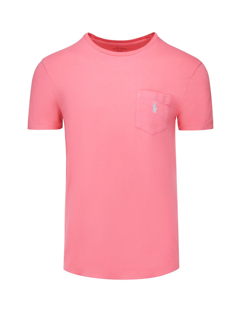 Polo Ralph Lauren Men's Giulio Fashion Pink Custom Slim Fit Pocket T-Shirt 710671501017