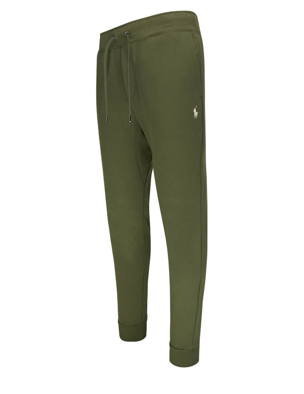 Polo Ralph Lauren Men's Olive Green Double Knit Tech Joggers 710652314004