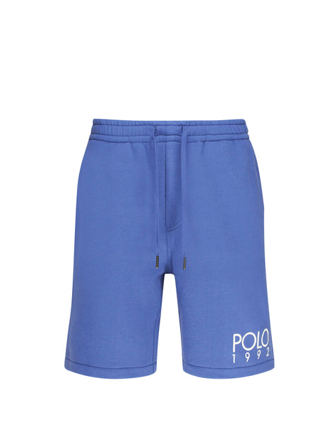 Polo Ralph Lauren Men's Giulio Fashion Bastile Blue Magic Fleece Shorts 710746444004