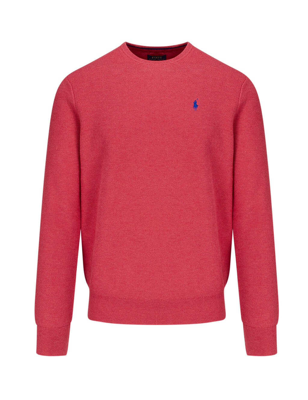 Polo Ralph Lauren Men's Rosette Heather Cotton Pima Knit 710680593033