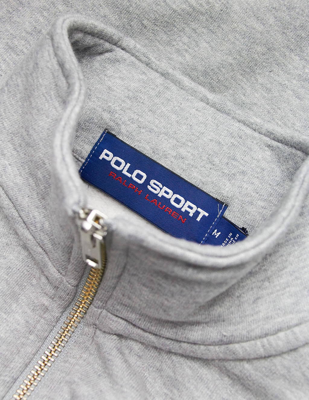 Polo Ralph Lauren Men's Giulio Fashion Grey Polo Sport Sweatshirt 710750456005