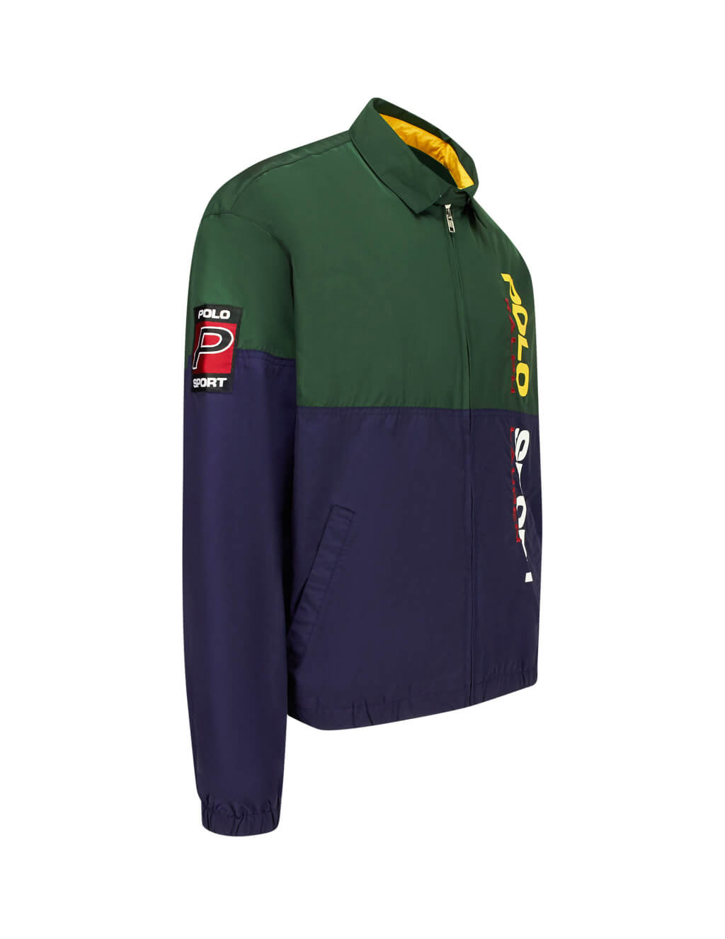 Polo Ralph Lauren Men's Giulio Fashion Green Polo Sport Windbreaker 710749785002