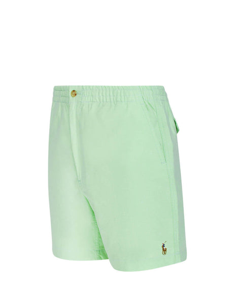 Polo Ralph Lauren Men's Giulio Fashion Lime Prepster Oxford Shorts 710789007002
