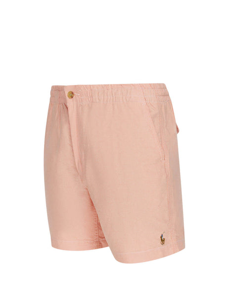 Polo Ralph Lauren Men's Giulio Fashion Peach Prepster Oxford Shorts 710789007001
