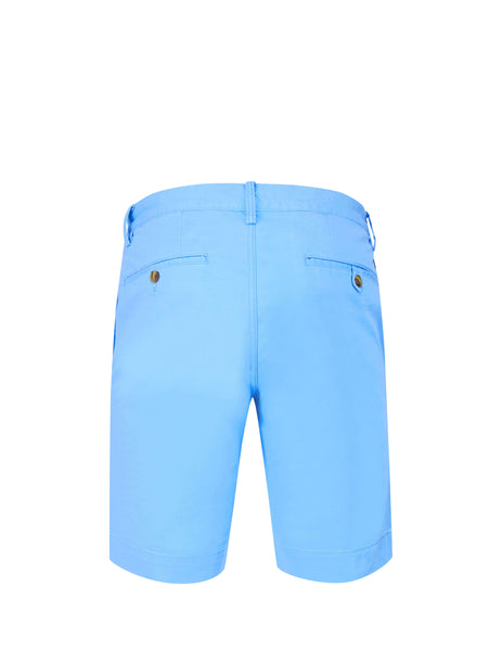 Polo Ralph Lauren Men's Giulio Fashion Blue Slim Fit Bedford Shorts 710737075001