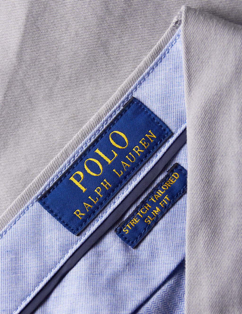 Polo Ralph Lauren Men's Giulio Fashion Peal Grey Slim-Fit Chinos 710644990028