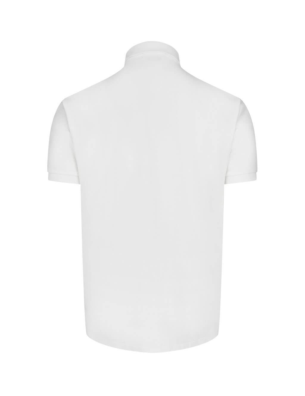 Men's Polo Ralph Lauren Slim Fit Soft Touch Polo Shirt in White 710685514001