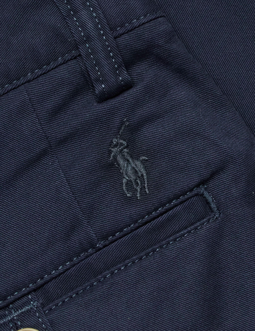 Polo Ralph Lauren Men's Nautical Navy Ink Stretch Chino Trousers 710704176001