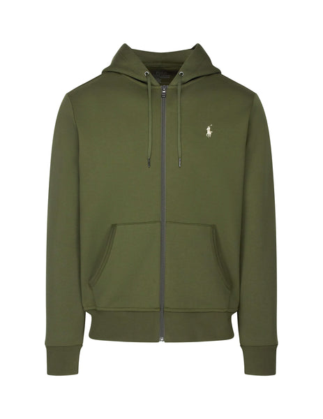 Polo Ralph Lauren Men's Giulio Fashion Olive Tech Hoodie 710652313007