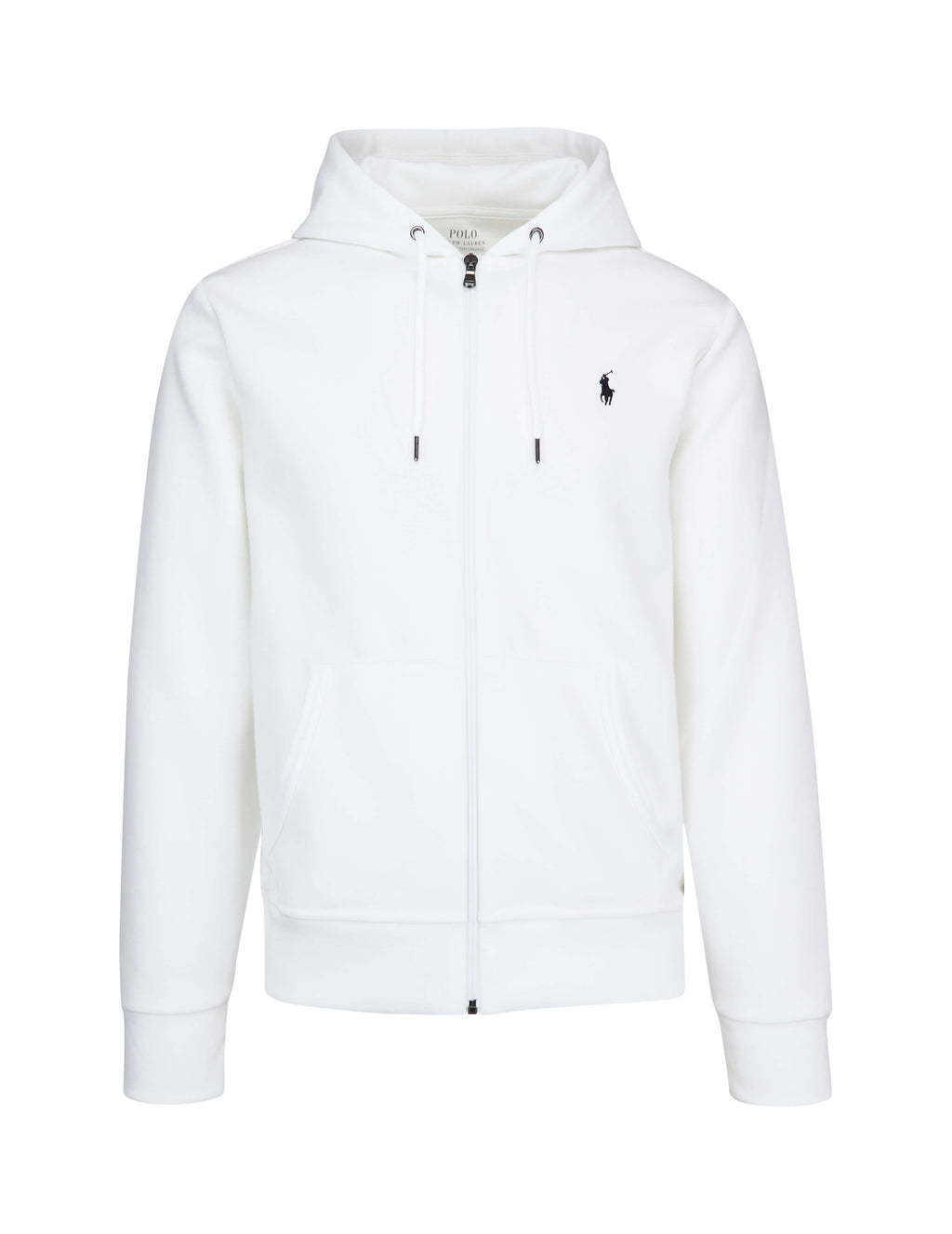 Polo Ralph Lauren Men's Giulio Fashion White Double-Knit Hoodie 710652313017