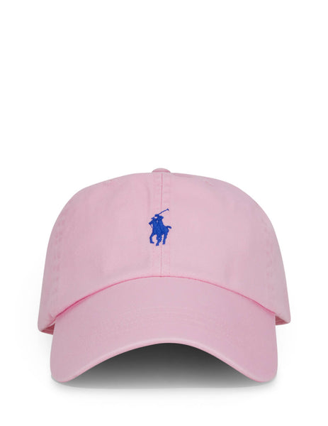 Polo Ralph Lauren Men's Giulio Fashion Carmel Pink Cotton Chino Baseball Cap 710673213020
