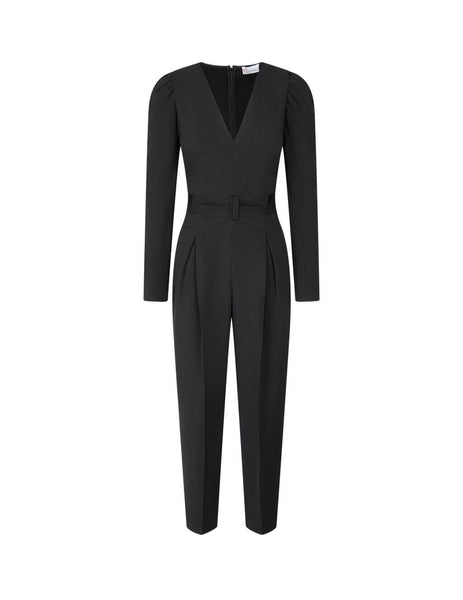 Women's Black REDValentino Frisottino Jumpsuit UR3VEB152EU0NO