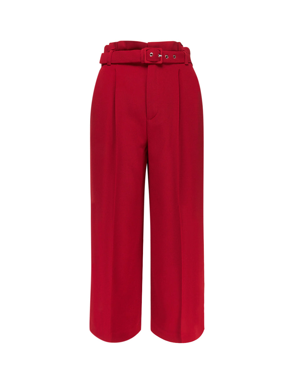 REDValentino Women's Giulio Fashion Red High Waist Culottes SR0RBB602EUL58