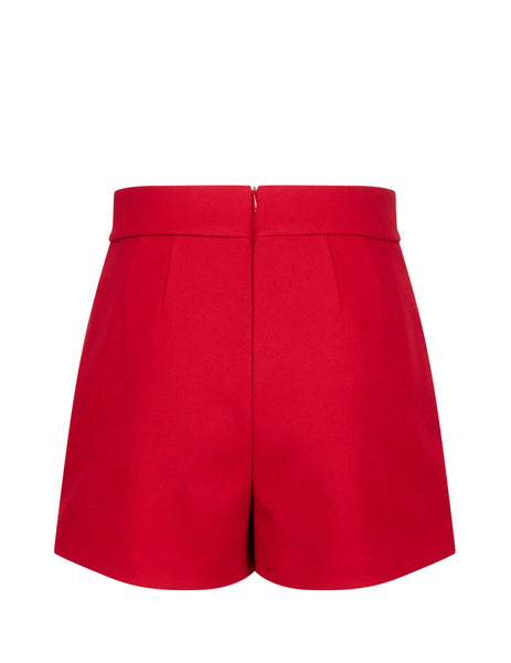 REDValentino Women's Giulio Fashion Red Mini Skort SR0RFB851Y1L58