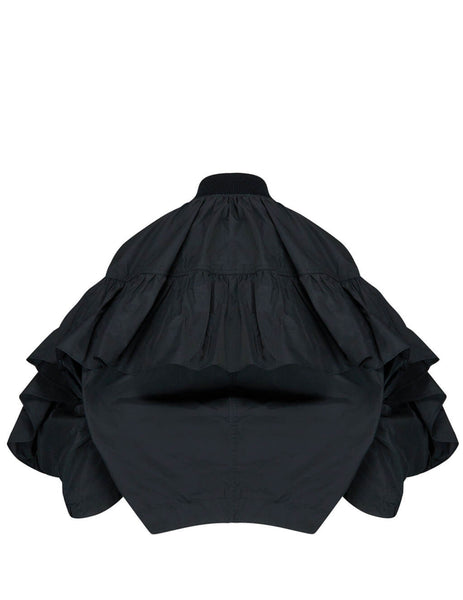 REDValentino Women's Giulio Fashion Black Taffeta Jacket TR3CIB851FP0NO