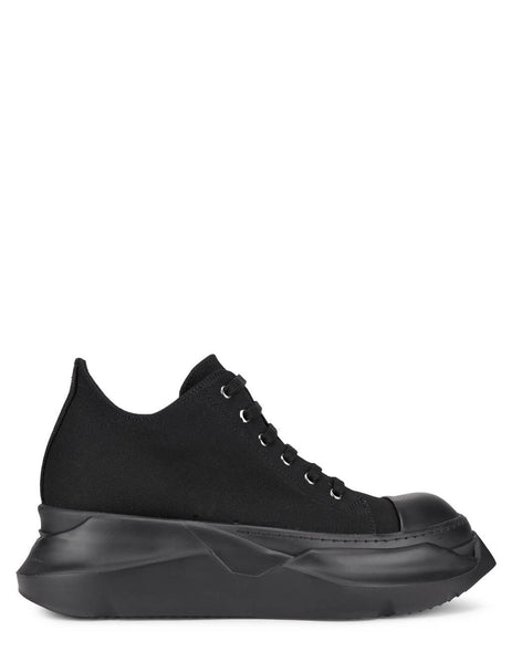 Men's Rick Owens DRKSHDW Abstract Low Sneakers in Black - DU21S2842TNAP999