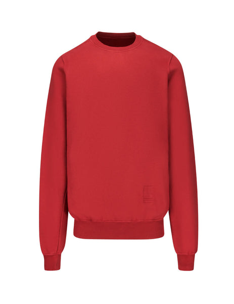 Rick Owens DRKSHDW Men's Giulio Fashion Cherry Fleece Sweatshirt DU19F6270F03