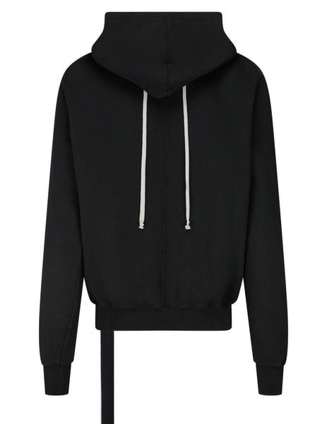 Men's Rick Owens DRKSHDW Granbury Hoodie in Black - DU21S2289F09