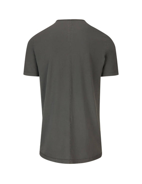 Rick Owens DRKSHDW Men's Giulio Fashion Grey Larry Level Tee DU19F6250RNEP34803