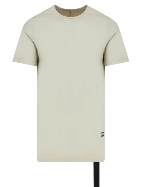 Men's Rick Owens DRKSHDW Level T-Shirt in Pearl - DU21S2250RN08