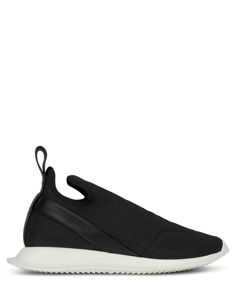 Rick Owens DRKSHDW Men's Giulio Fashion Black Neo Runner Sneakers DU19F6825SBWLBO9909
