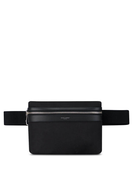 Men's Saint Laurent Nylon City Camera Bag in Black. 634717GIVLF1000