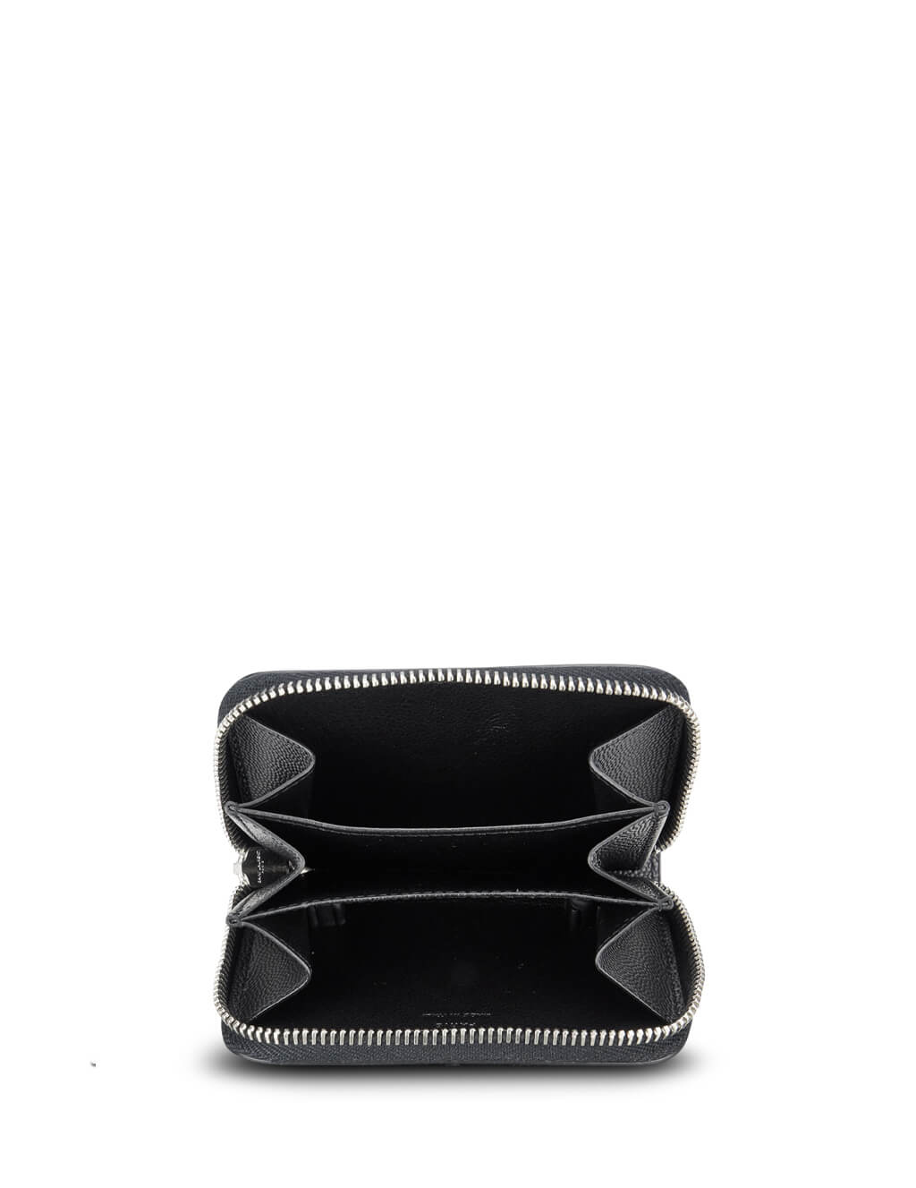 Saint Laurent Men's Giulio Fashion Black Classic Coin Purse 506522BTY0N1000