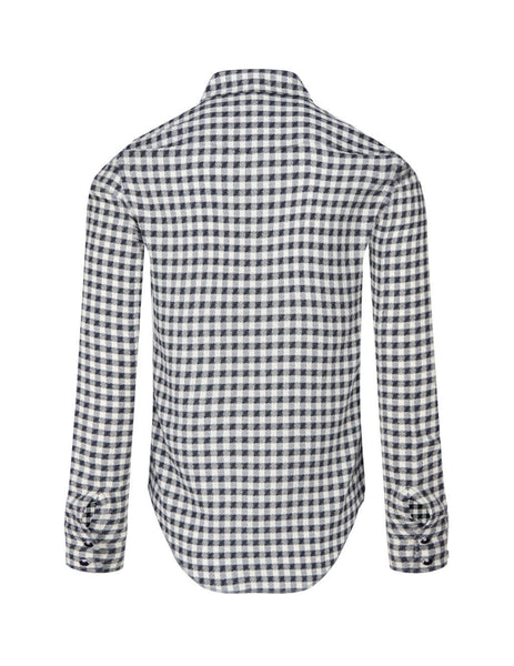Saint Laurent Men's Dallas Western Shirt 629925Y00NA1009