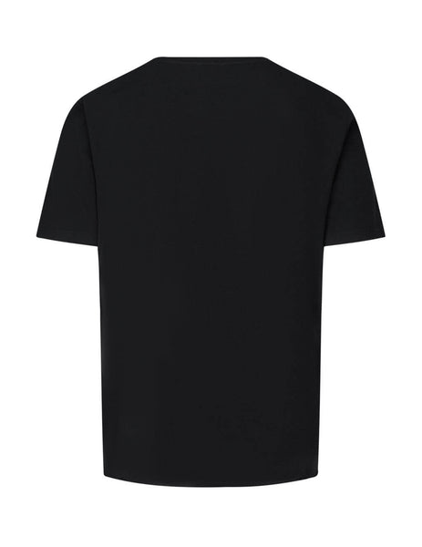 Saint Laurent Men's Black Icon T-Shirt 631800YBVS21095