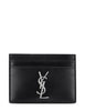 Men's Saint Laurent Monogram Cardholder in Black - 4856310SX0E1000