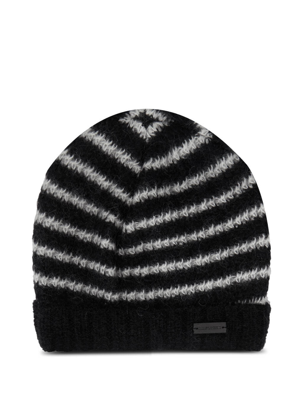 Men's Saint Laurent Sailor Knit Hat in Black. 6327254YF721078