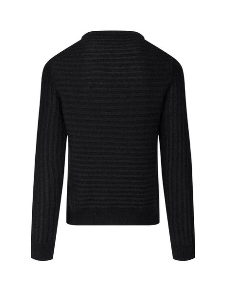 Saint Laurent Men's Black Sailor Knit Jumper 631503YARG21000