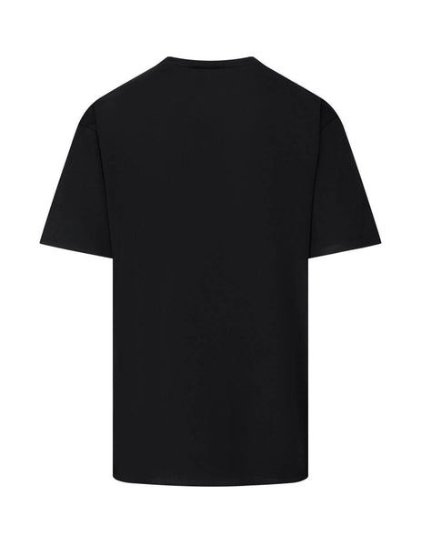 Saint Laurent Men's Black Signature T-Shirt 480406YB1GN9787