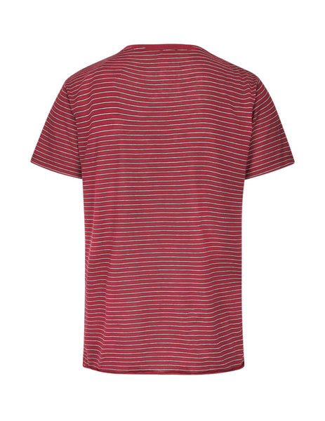 Saint Laurent Men's Giulio Fashion Red SL Star T-Shirt 579056YBIW26166