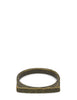 Saint Laurent Tribal Curb Ring in Bronze 608510Y15001301