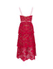 self-portrait Women's Giulio Fashion Fuchsia Floral Lace Dress  RS20-113F